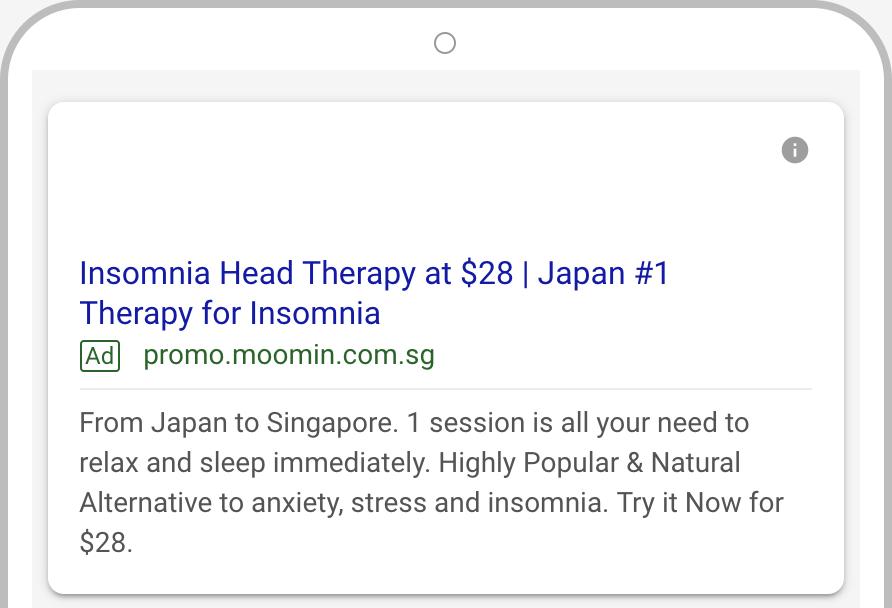Moomin Google AdWords 2