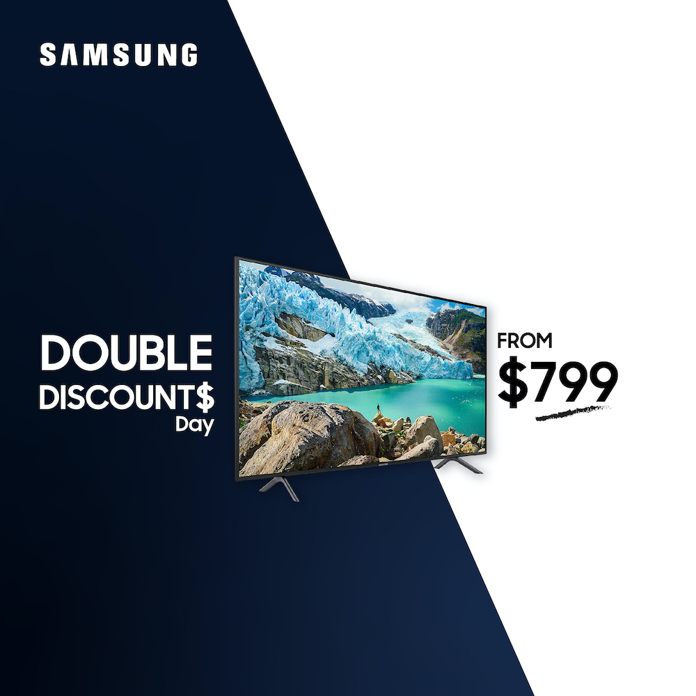 Audio House Samsung Double Discount Day