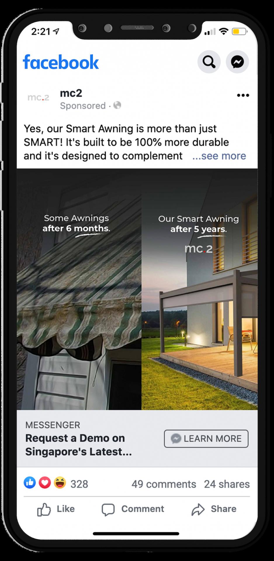 mc.2 Renson Lapure Facebook Marketing